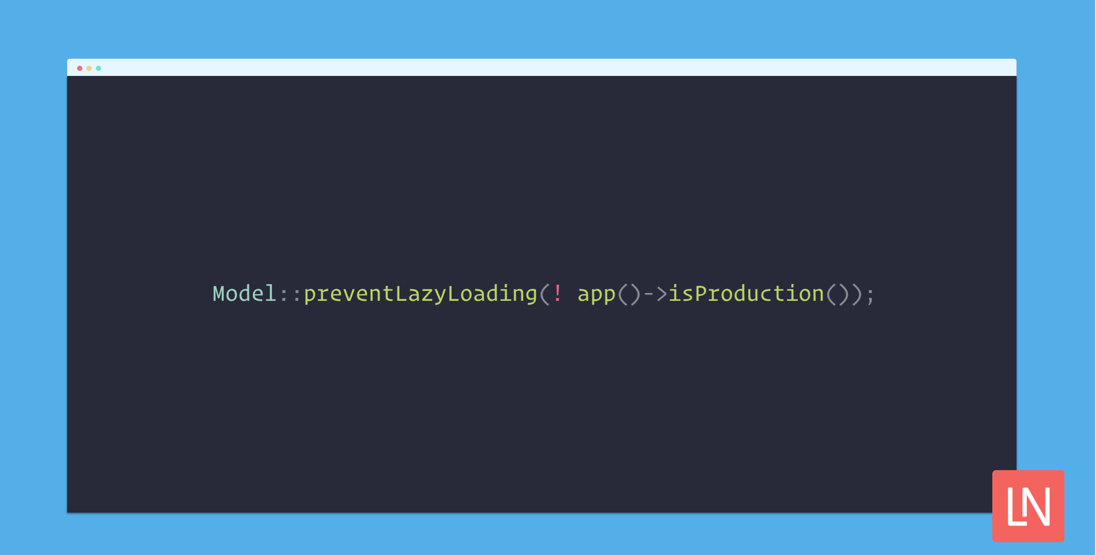 Find N+1 problems instantly by disabling lazy loading